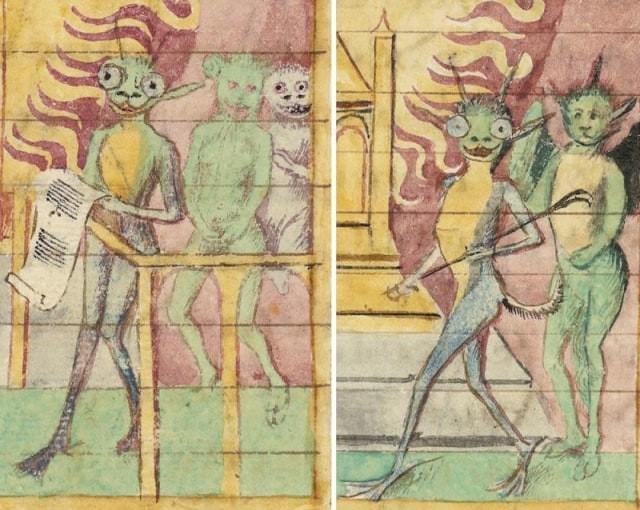 Ilustraciones curiosas obras medievales (6)