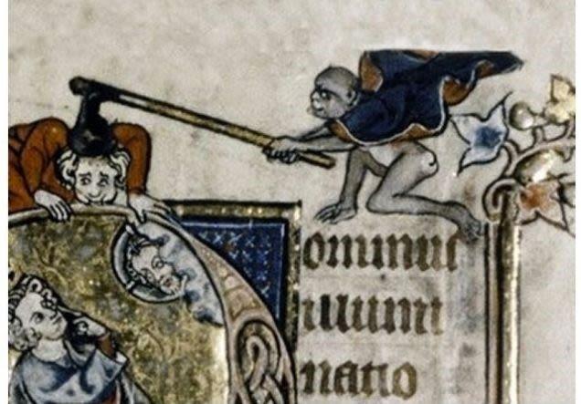 Ilustraciones curiosas obras medievales (7)