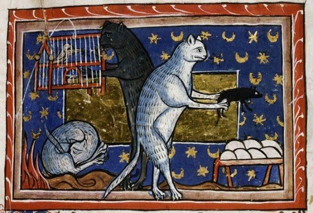 Ilustraciones curiosas obras medievales (9)