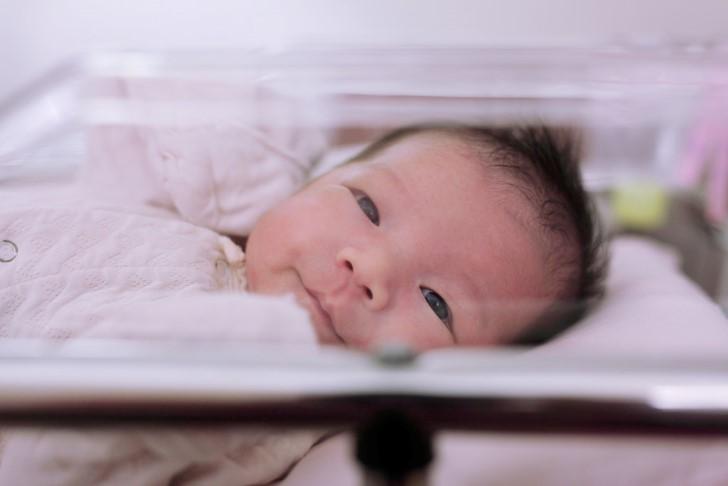 Sonrisa de un bebe