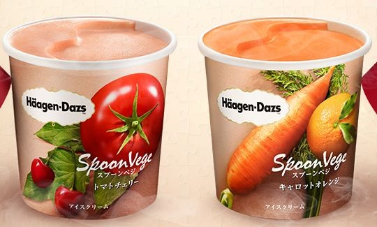 Spoonvege haagen daz helado de vegetales