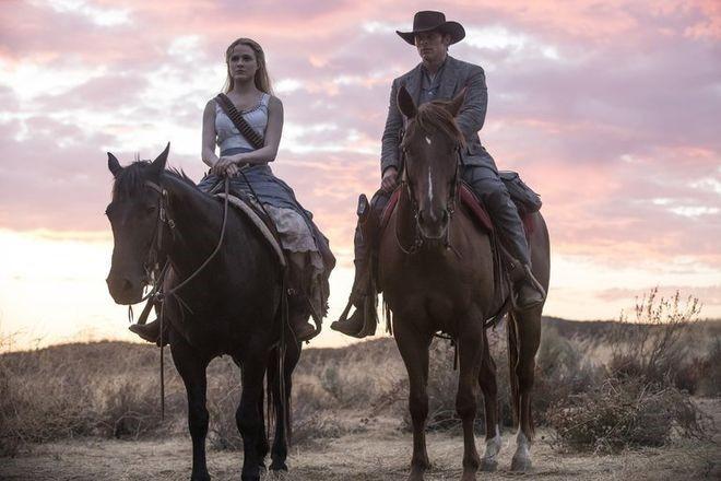 Westworld caballos