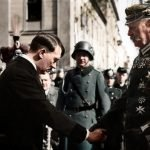 Adolf hitler y paul von hindenburg
