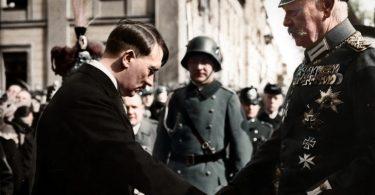 Adolf hitler y paul von hindenburg