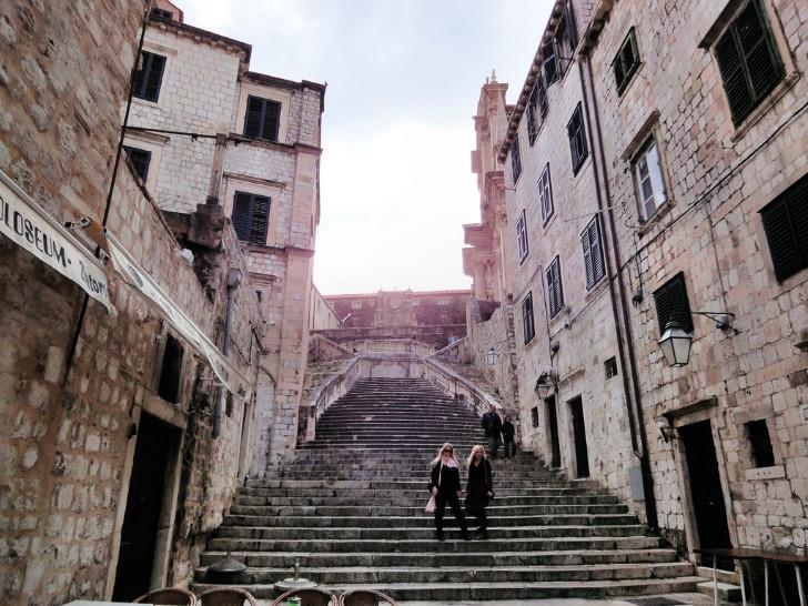 Dubrovnik centro historico escaleras