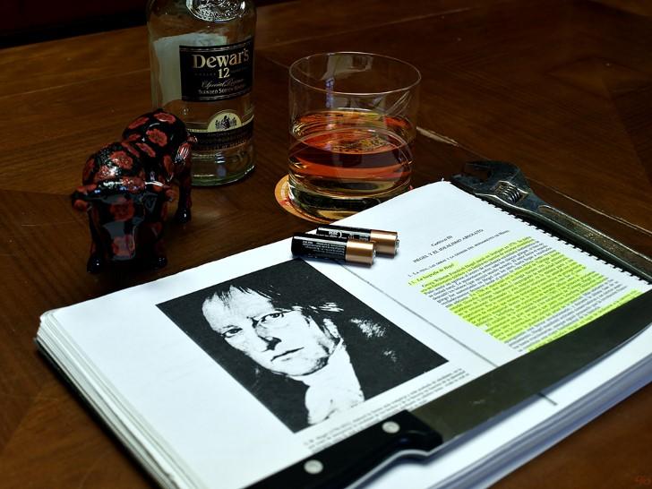Friedrich hegel estudiando