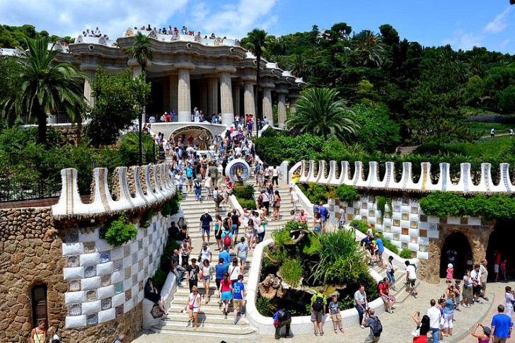 Parque güel en barcelona