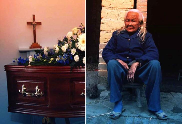 Abuela china regresa de los muertos