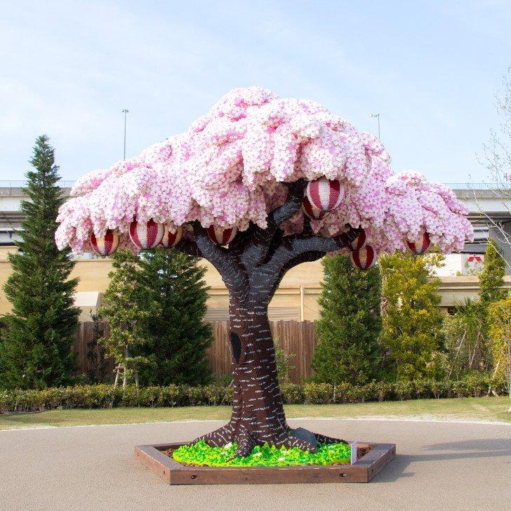Arbol cerezo lego japon (3)