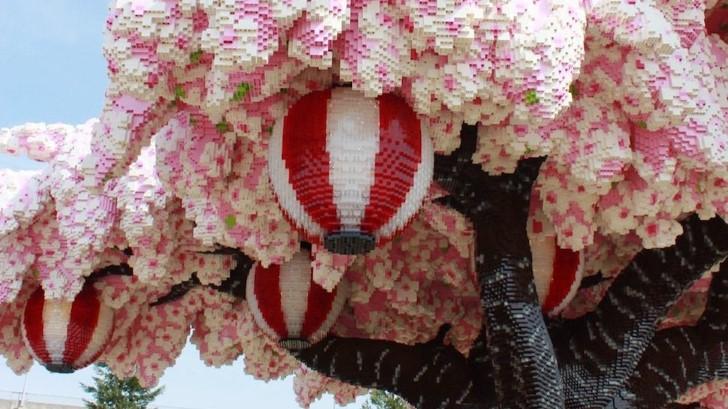 Arbol cerezo lego japon (4)