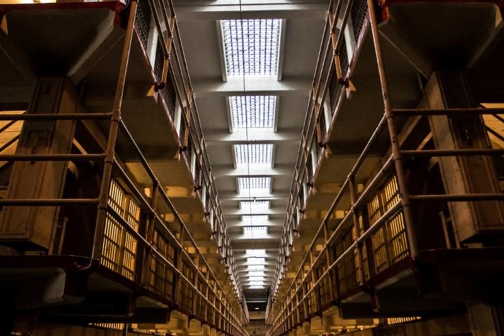 Bloque de celdas en alcatraz