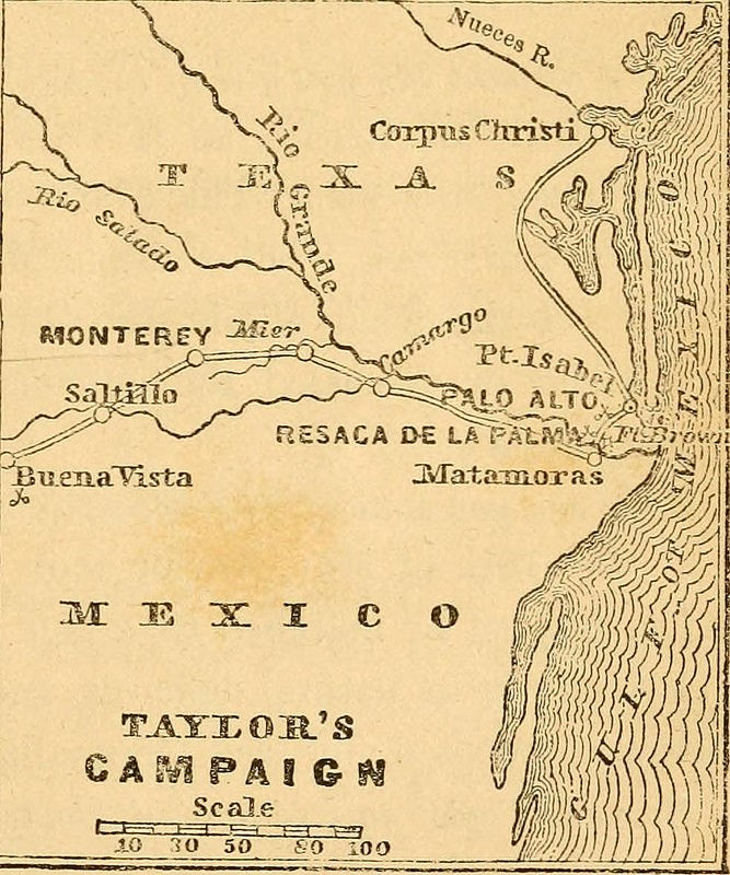 Camapaña general taylor