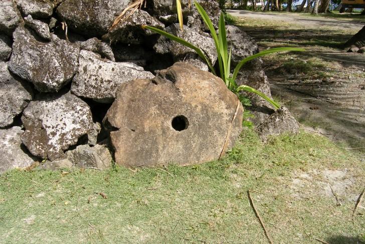 Dinero roca en yap