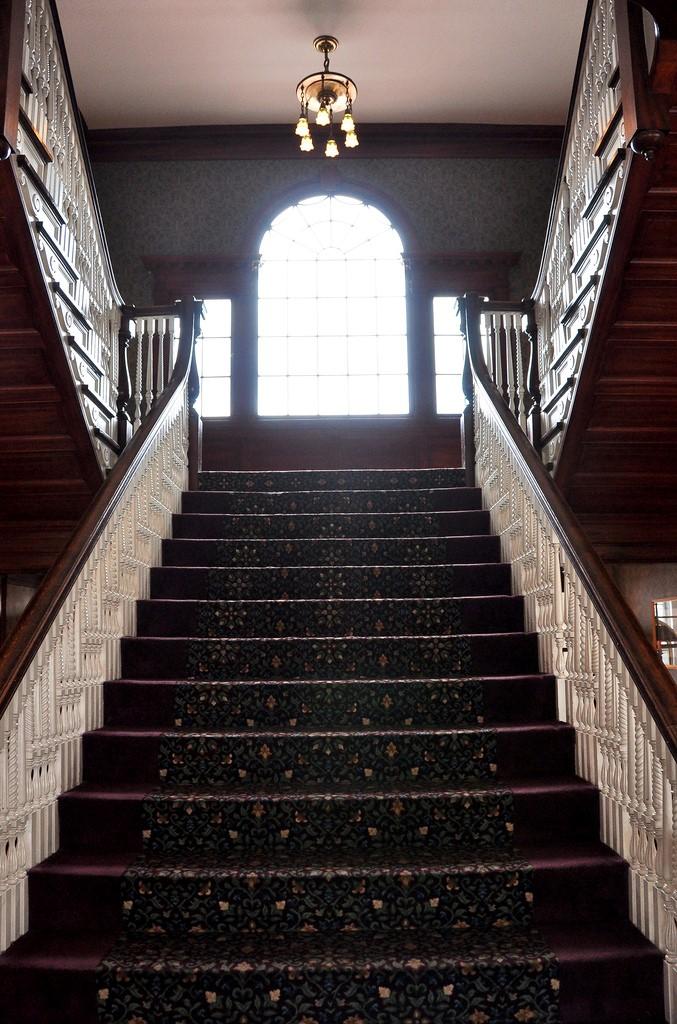 Escaleras hotel stanley