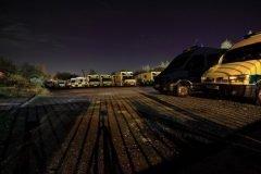 Estacionamiento ambulancias