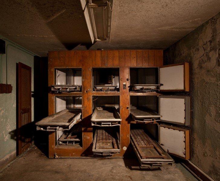 Gavetas morgue