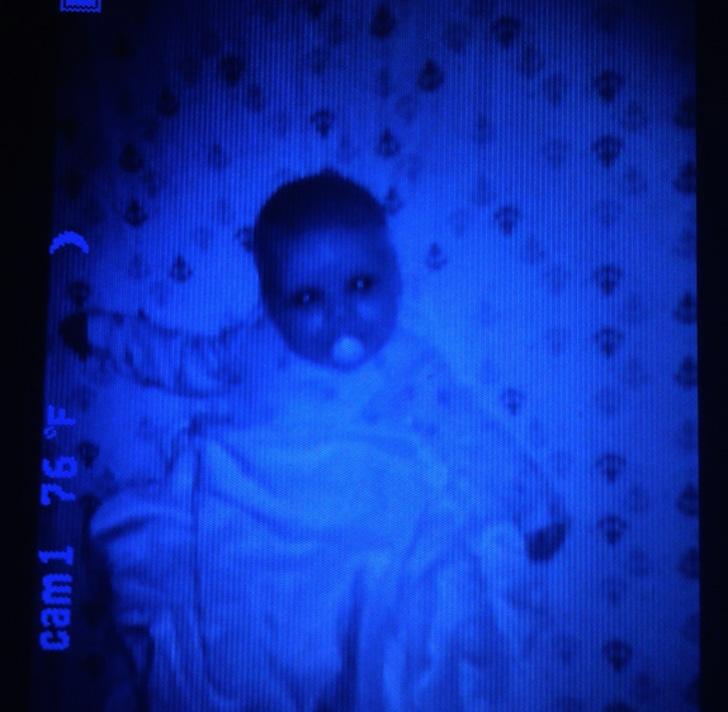 Perturbador bebe del terror