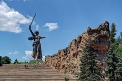 Mamáyev kurgán escultura en volgogrado