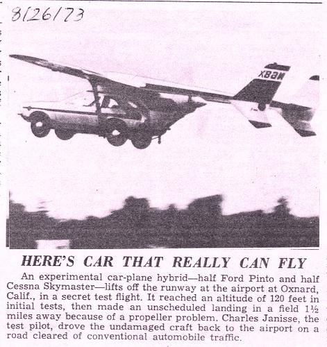 Mizar carro volador