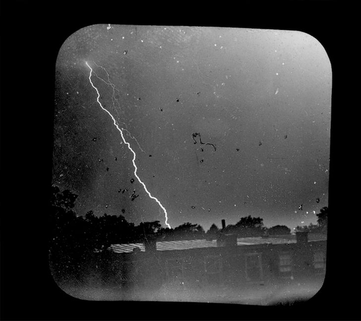 Fotografia di William nicholson lightning