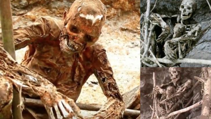 Cadaveres ahumados papua nueva guinea