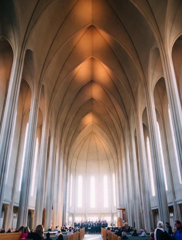 Catedral en reykjavik