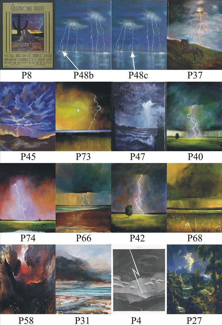 Comparacion rayos pinturas