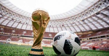 Copa mundial 2018 y balon telstar