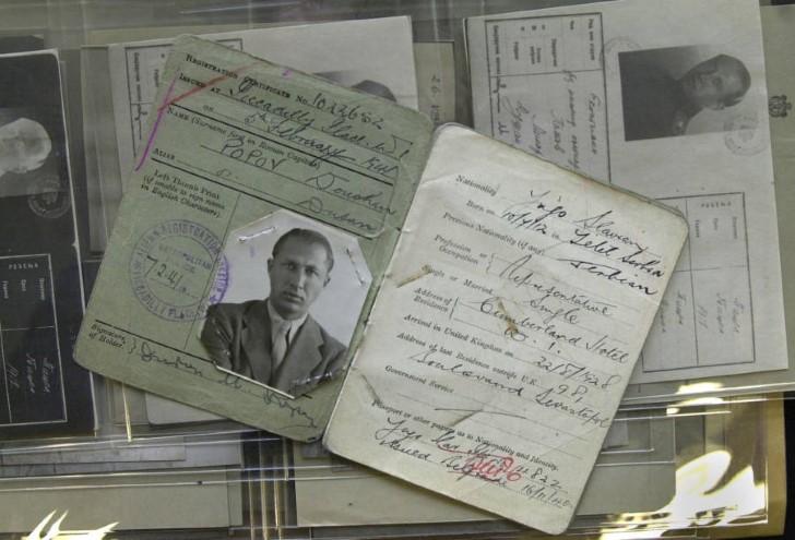 Dusko popov registro doble agente