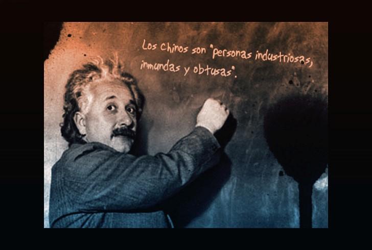 Einstein los chinos