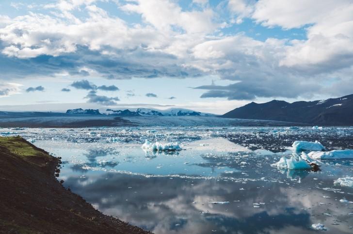 Hielo en islandia iceberg
