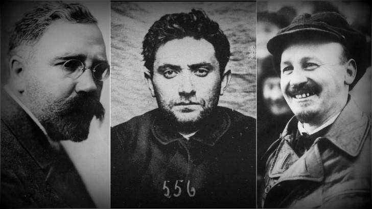 Lideres bolcheviques revolucion rusa