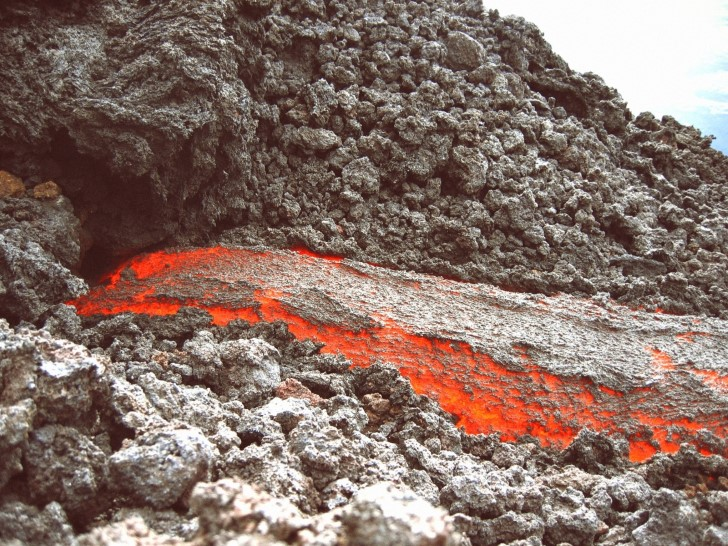 Magma volcanico