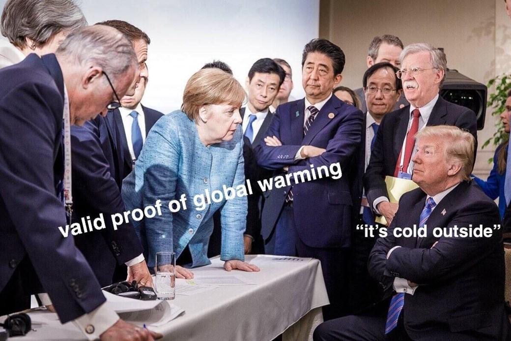 Memes fotografia trump merkel g7 (10)