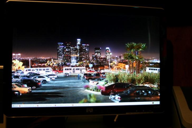 Monitor wallapaer paisaje urbano