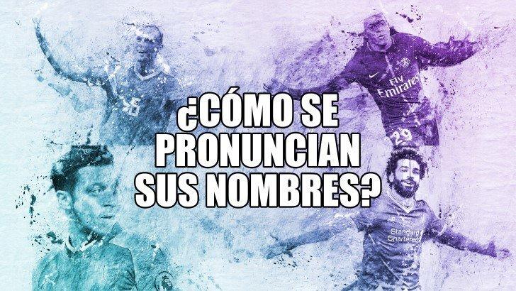 Nombres futbolistas mundial portada