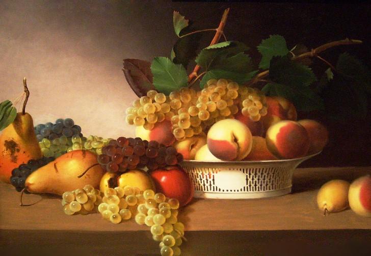 Pintura frutas