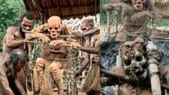 Los cadáveres ahumados de Aseki, una macabra tradición