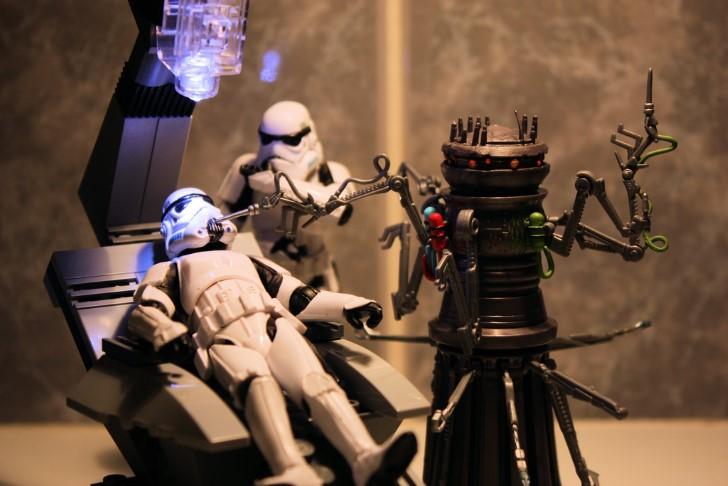Stormtrooper en el dentista