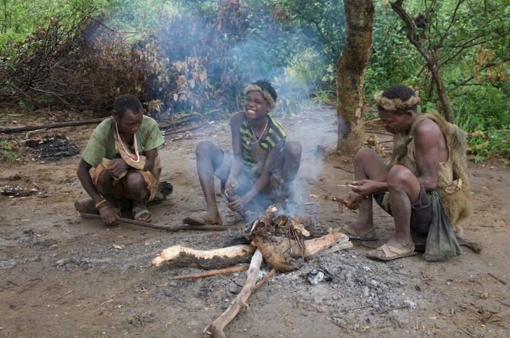 Tribu hadza tanzania