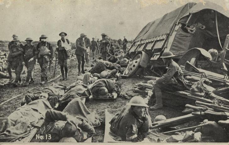 Batalla de menin road, belgica 1917