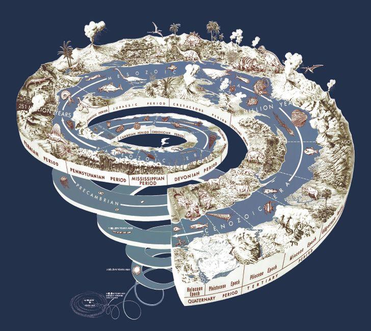 Escala geologica del tiempo