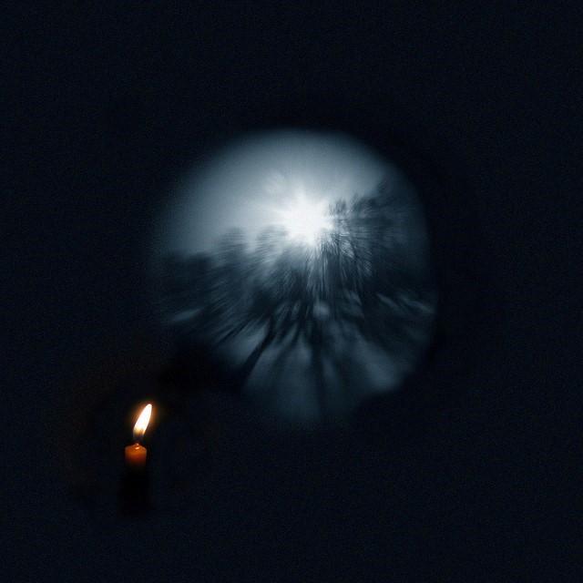Foto oscura vision borrosa