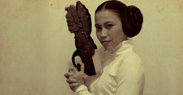 Pistolas de plastico guerra de las galaxias