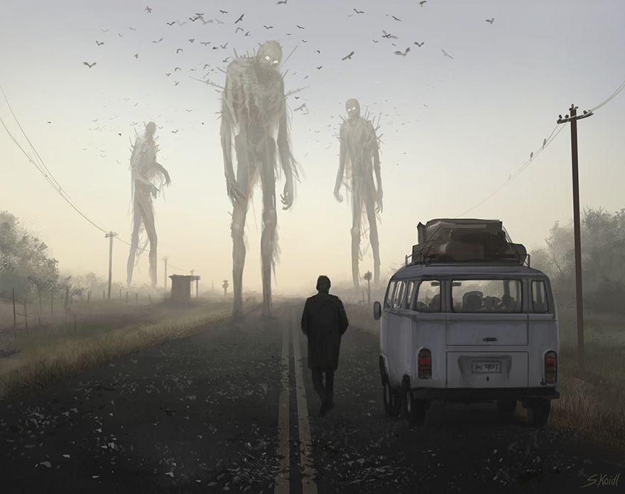 Stefan koidl ilustraciones aterradoras (2)