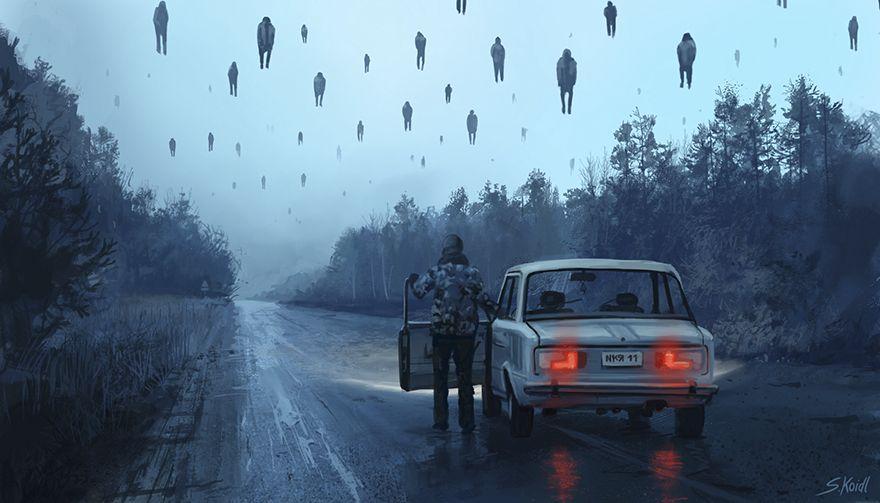 Stefan koidl ilustraciones aterradoras (20)