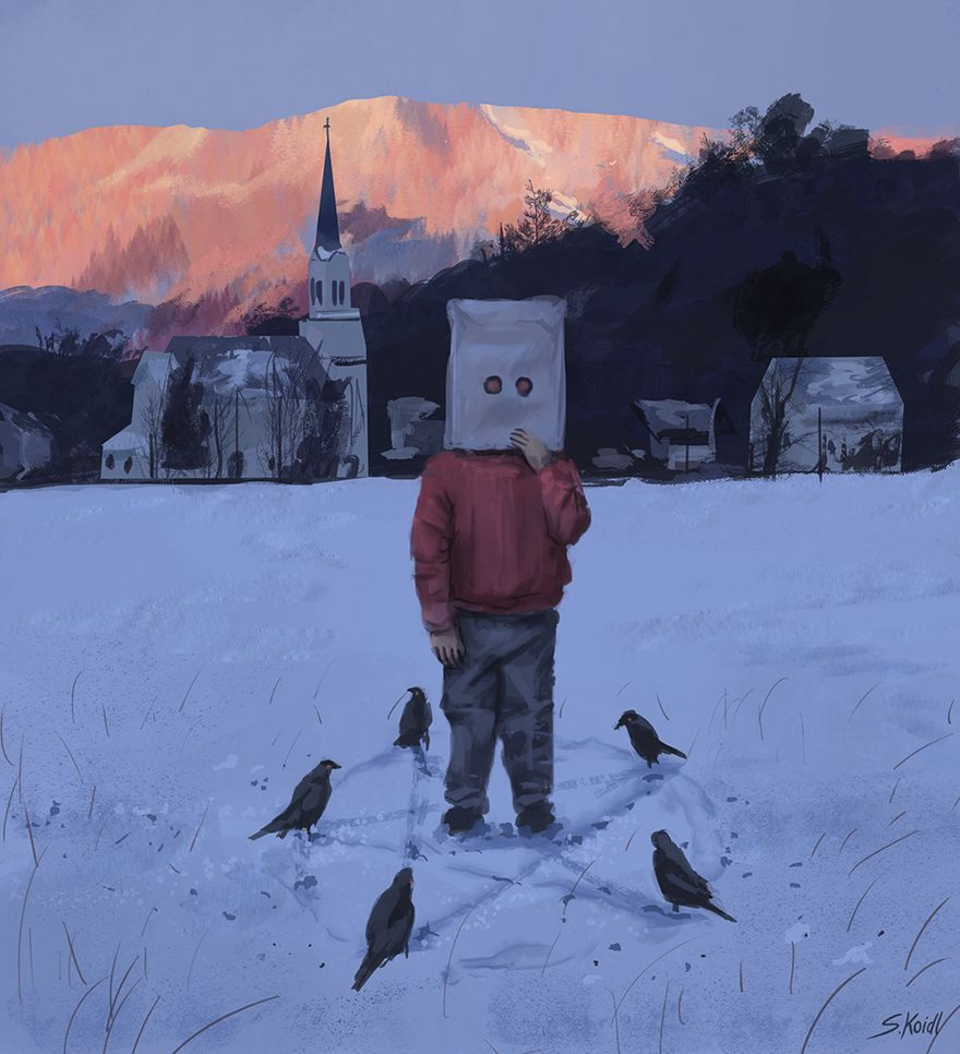 Stefan koidl ilustraciones aterradoras (3)