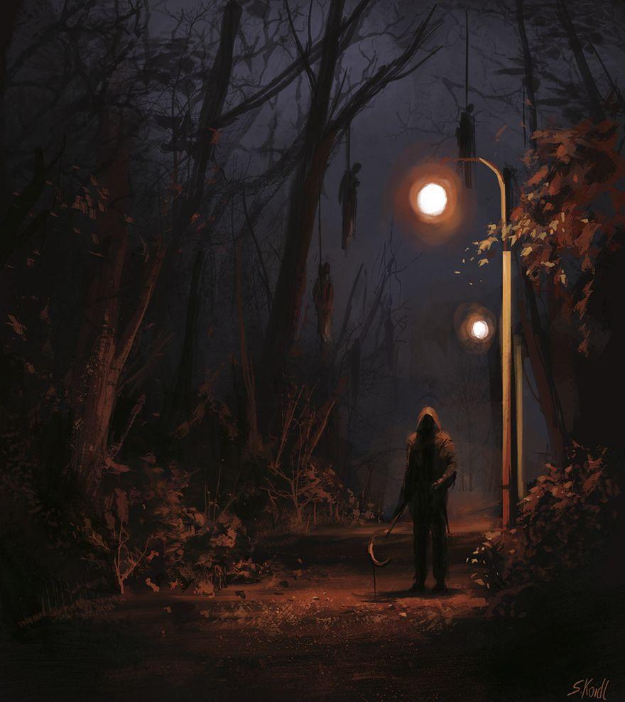 Stefan koidl ilustraciones aterradoras (6)