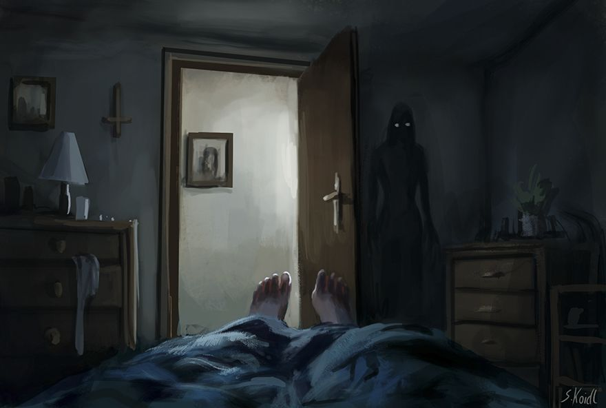 Stefan koidl ilustraciones aterradoras (7)