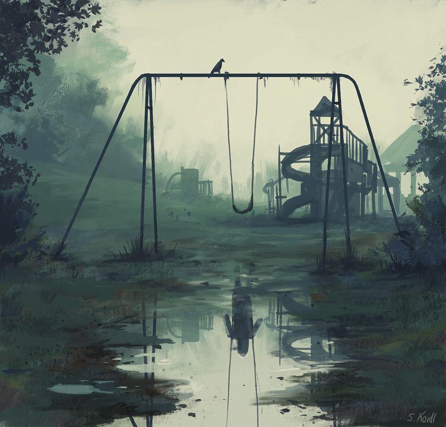Stefan koidl ilustraciones aterradoras (9)